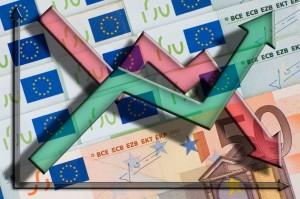 European Union currency - 100 euros banknotes