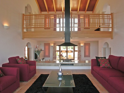 The villa that won the 'Best Property in Portugal' award - interior