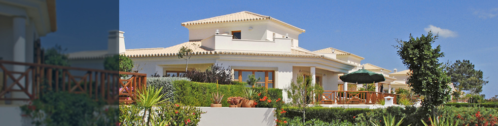 Algarve property - innovative architecture banner