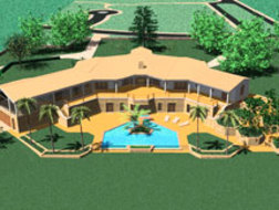 Villa Sol Nascente on Plot 185 of 7,785 m²